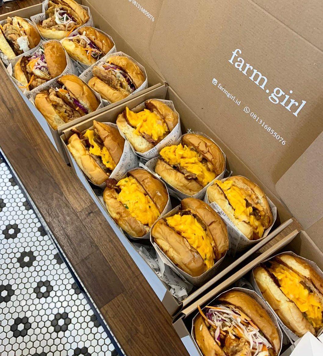 Farm Girl – Restoran Burger Beraneka Rasa di Menteng dan Wijaya