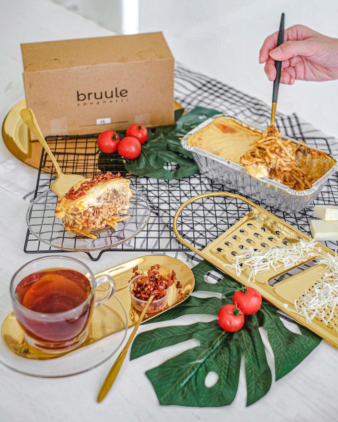 4 Delivery Spaghetti Brulee di Jakarta yang Lezatnya Tiada Dua